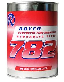 Royco 782 83282 Hydraulic Fluids