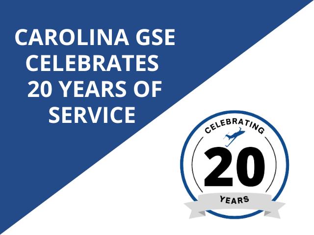 Carolina GSE Anniversary